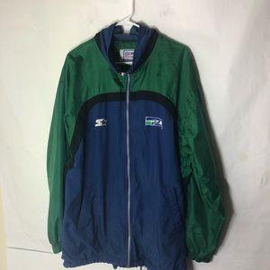 Vintage Seattle Seahawks Men Starter Jacket